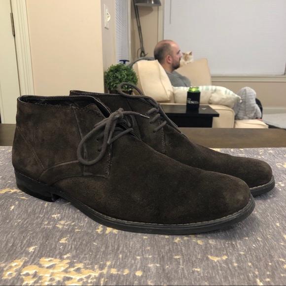 Scott Brown Suede Chukka Boots   Poshmark